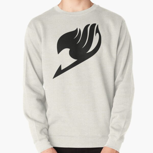 Fairy Tail Logo (Black) Pullover Sweatshirt RB0607 product Offical Fairy Tail Merch
