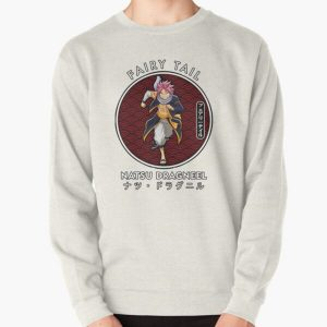 NATSU DRAGNEEL I IN THE RED CIRCLE Pullover Sweatshirt RB0607 product Offical Fairy Tail Merch