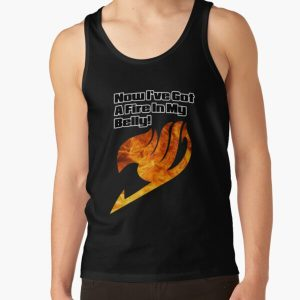 Now I've got a fire in my belly! Tank Top RB0607 product Offical Fairy Tail Merch