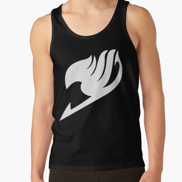 Fairy Tail - Logo (white) Tank Top RB0607 product Offical Fairy Tail Merch