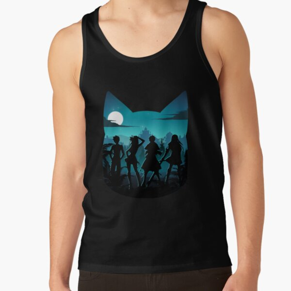 Happy Silhouette Tank Top RB0607 product Offical Fairy Tail Merch