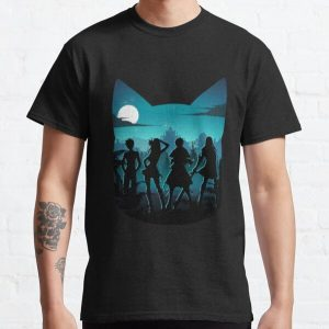 Happy Silhouette Classic T-Shirt RB0607 product Offical Fairy Tail Merch