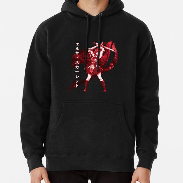 Fairy Tail - Erza Scarlet Pullover Hoodie RB0607 product Offical Fairy Tail Merch