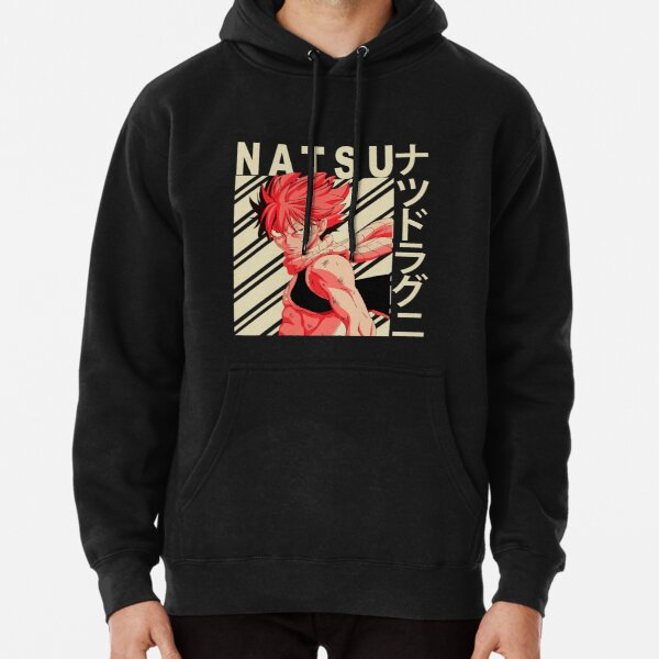 Natsu dragneel - Vintage Art Pullover Hoodie RB0607 product Offical Fairy Tail Merch