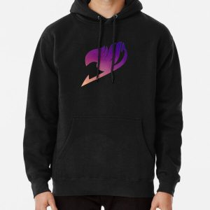 Fairy Tail emblem  Pullover Hoodie RB0607 product Offical Fairy Tail Merch