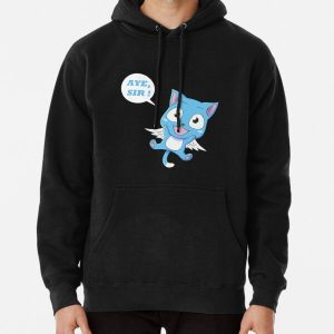 Blue Cat Pullover Hoodie RB0607 product Offical Fairy Tail Merch