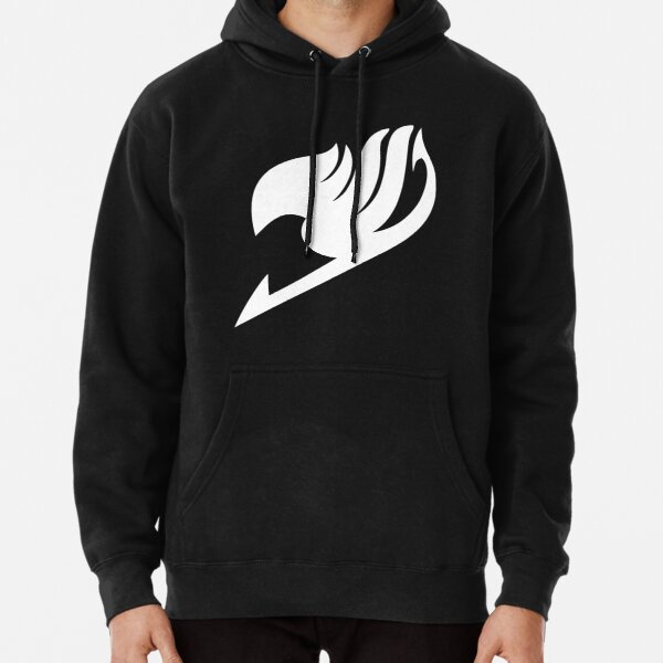 Fairy Tail - Logo (white) Pullover Hoodie RB0607 product Offical Fairy Tail Merch