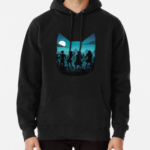 Happy Silhouette Pullover Hoodie RB0607 product Offical Fairy Tail Merch