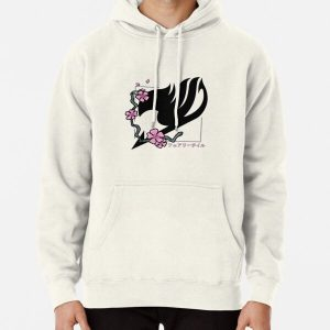 Fairy Tail Cherry Blossoms Pullover Hoodie RB0607 product Offical Fairy Tail Merch