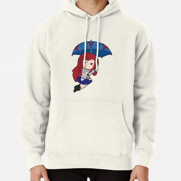 Tenrou Erza Pullover Hoodie RB0607 product Offical Fairy Tail Merch