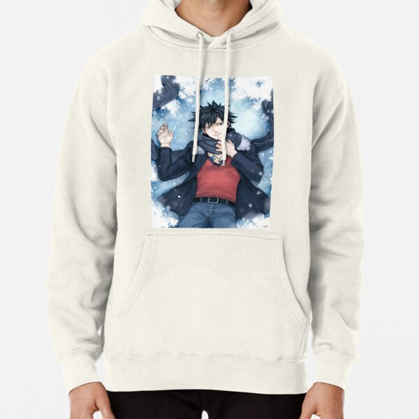 Fairy Tail - Gray Fullbuster  Pullover Hoodie RB0607 product Offical Fairy Tail Merch