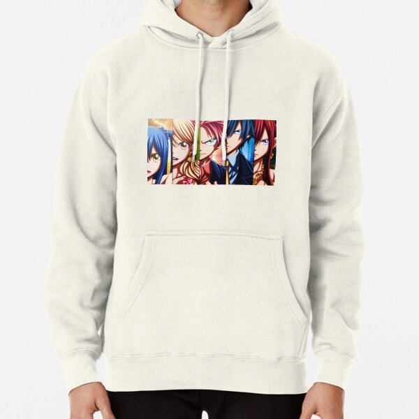 FT characters  Pullover Hoodie RB0607 product Offical Fairy Tail Merch