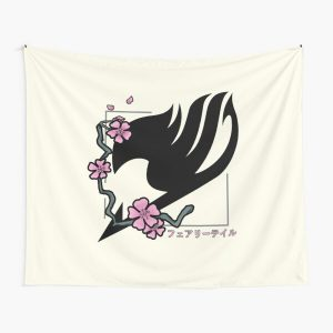 Fairy Tail Cherry Blossoms Tapestry RB0607 product Offical Fairy Tail Merch