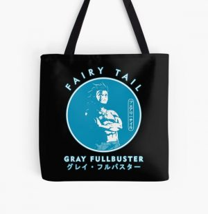 GRAY FULLBUSTER IN THE COLOR CIRCLE  All Over Print Tote Bag RB0607 product Offical Fairy Tail Merch