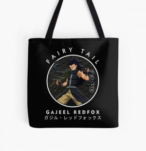 GAJJEL IN THE CIRCLE UP All Over Print Tote Bag RB0607 product Offical Fairy Tail Merch