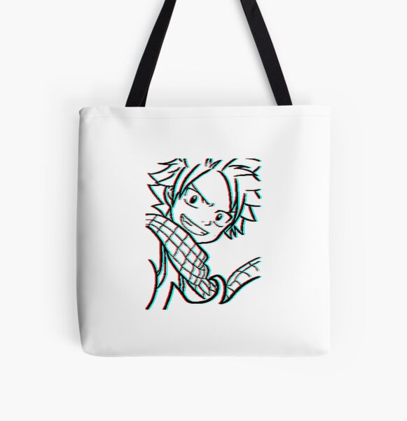 Anime Fairy Taila All Over Print Tote Bag RB0607 product Offical Fairy Tail Merch