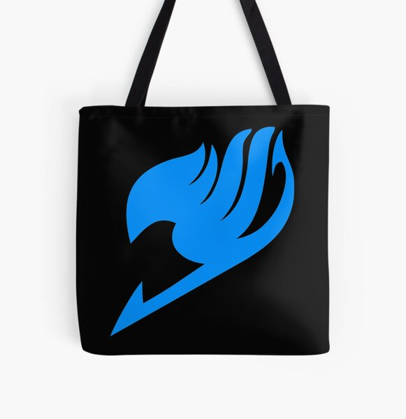 Fairy Tail- Logo (blue) All Over Print Tote Bag RB0607 product Offical Fairy Tail Merch