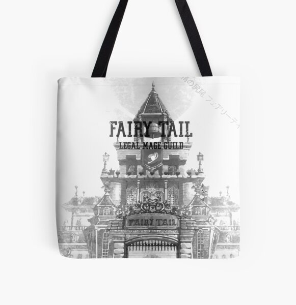 Fairy Tail All Over Print Tote Bag RB0607 product Offical Fairy Tail Merch