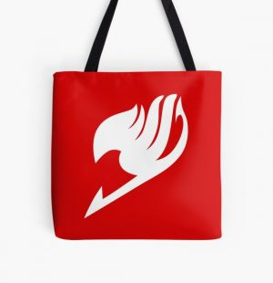 Fairy Tail Symbol All Over Print Tote Bag RB0607 product Offical Fairy Tail Merch