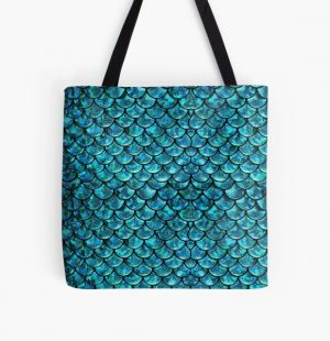 Mermaid Scales  All Over Print Tote Bag RB0607 product Offical Fairy Tail Merch