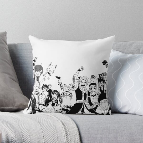 Fairy Tail - Fairy Tail Guild Throw Pillow RB0607 product Offical Fairy Tail Merch
