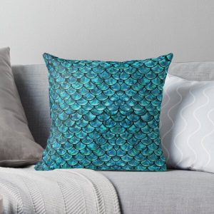 Mermaid Scales  Throw Pillow RB0607 product Offical Fairy Tail Merch