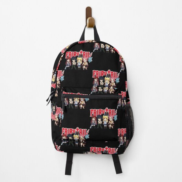 Fairy Tail Anime Group - Cute Character  Backpack RB0607 product Offical Fairy Tail Merch