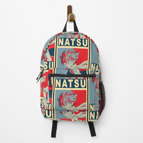 Natsu Poster  Backpack RB0607 product Offical Fairy Tail Merch