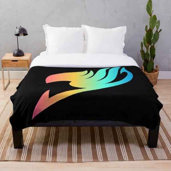 Fairy Tail rainbow Throw Blanket RB0607 product Offical Fairy Tail Merch
