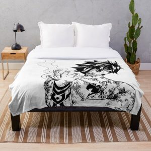 Fairy Tail - Gray Fullbuster Throw Blanket RB0607 product Offical Fairy Tail Merch