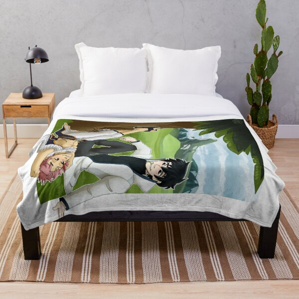 Napping in Grassy Fields [TRD] Throw Blanket RB0607 product Offical Fairy Tail Merch