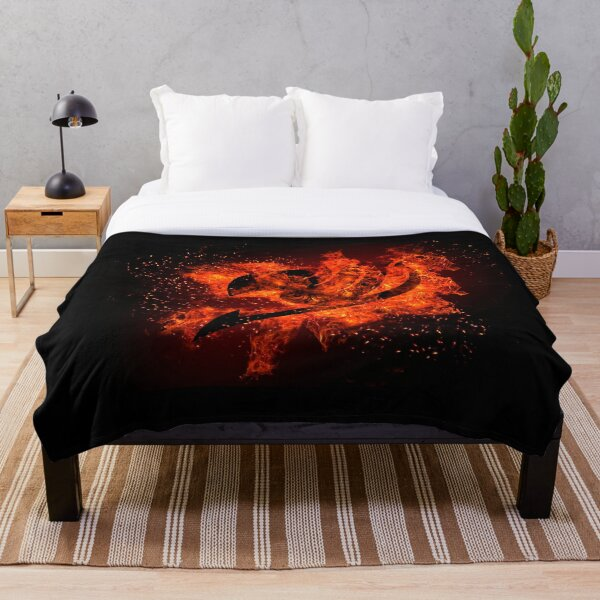 Cool Fairy Tail Logo Throw Blanket RB0607 product Offical Fairy Tail Merch