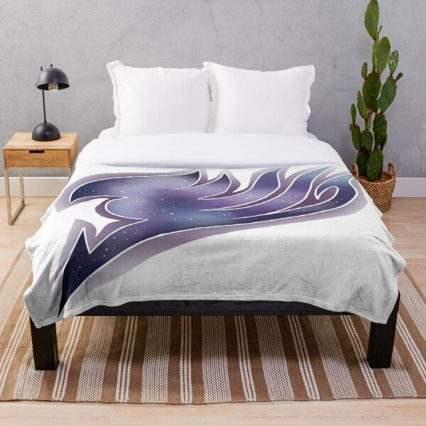 Fairy Tail Galaxy Throw Blanket RB0607 product Offical Fairy Tail Merch