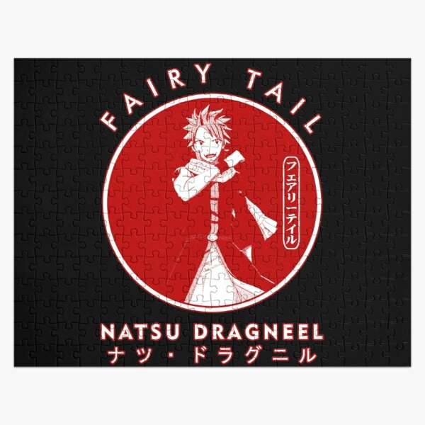 NATSU DRAGNEEL II IN THE COLOR CIRCLE  Jigsaw Puzzle RB0607 product Offical Fairy Tail Merch