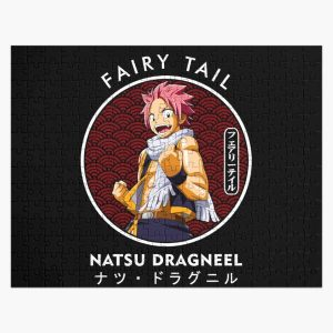 NATSU DRAGNEEL II IN THE RED CIRCLE Jigsaw Puzzle RB0607 product Offical Fairy Tail Merch