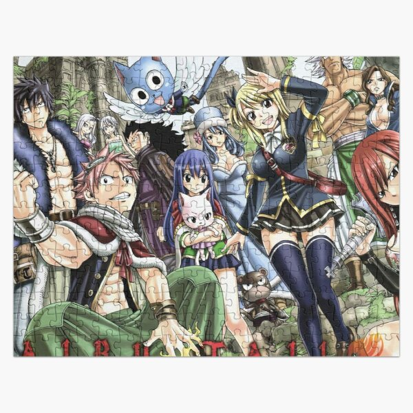 Fairy Tail 4 Jigsaw Puzzle RB0607 product Offical Fairy Tail Merch