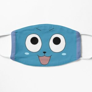 Happy face-Fairy tail Flat Mask RB0607 product Offical Fairy Tail Merch