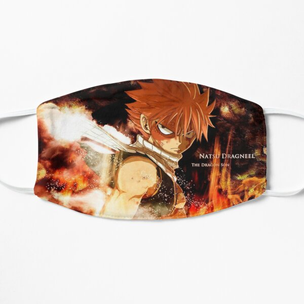 Natsu Dragneel on Fire Flat Mask RB0607 product Offical Fairy Tail Merch
