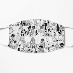 Fairy Tail Manga Collage  Flat Mask RB0607 product Offical Fairy Tail Merch