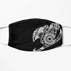 Fairy Tail White Mandala Style Flat Mask RB0607 product Offical Fairy Tail Merch