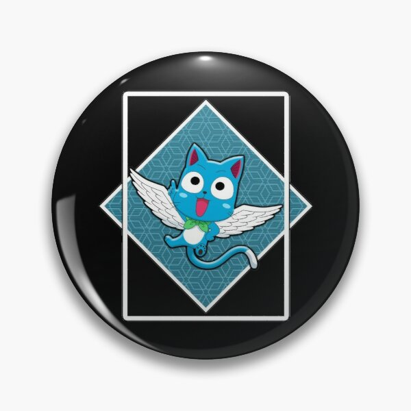 HAPPY IN THE BLUE BOX Pin RB0607 product Offical Fairy Tail Merch