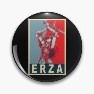 Erza Scarlet - Poster Pin RB0607 product Offical Fairy Tail Merch