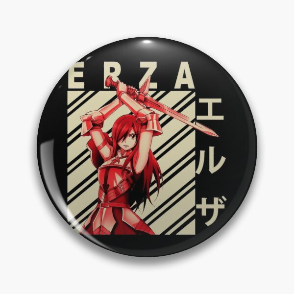 Erza Scarlet - Vintage Art Pin RB0607 product Offical Fairy Tail Merch