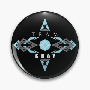 Gray ice magic blue   Fairy tail anime emblem  v2 Pin RB0607 product Offical Fairy Tail Merch