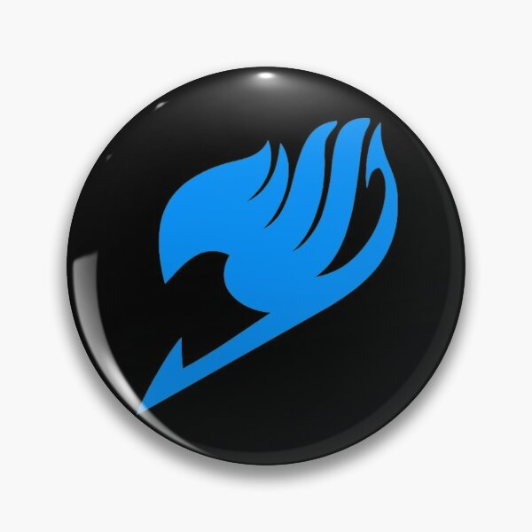 Fairy Tail- Logo (blue) Pin RB0607 product Offical Fairy Tail Merch