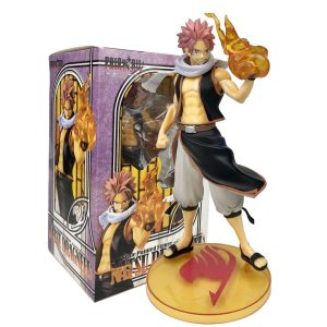 PVC Anime Fairy Tail Lucy Natsu Dragneel Action Figure 1 7 Scale Painted Model Toy Get - Fairy Tail Store